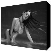 Kelly Brook Sexy Canvas Art - NEW - Choose your size - Ready to Hang